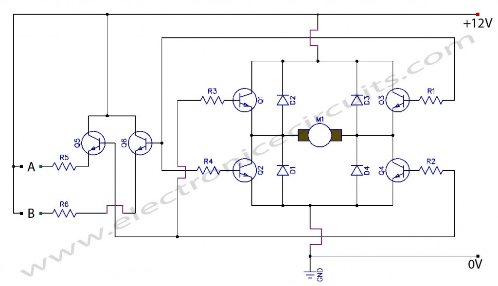 TWO WIRESSTEPPER MOTOR CONTROLLER SIMPLE CIRCUIT DIAGRAM ... on